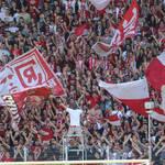 SSV Jahn – 1.FC Nürnberg – vor Fans