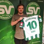 Chris Seidl kehrt zum SV Schalding-Heining zurück